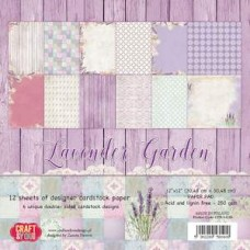 Craft and You Lavender Garden 6x6